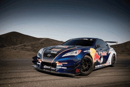 2010 Hyundai Genesis Coupe by Rhys Millen Racing - Red Bull livery 2