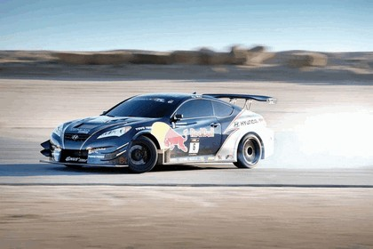 2010 Hyundai Genesis Coupe by Rhys Millen Racing - Red Bull livery 4