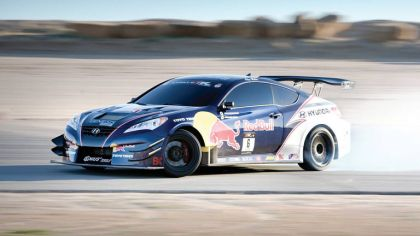 2010 Hyundai Genesis Coupe by Rhys Millen Racing - Red Bull livery 3