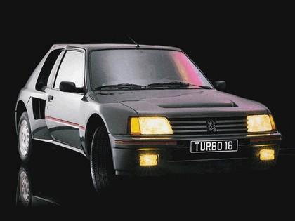1984 Peugeot 205 T16 1