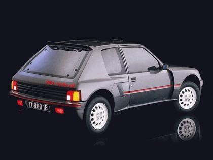 1984 Peugeot 205 T16 2