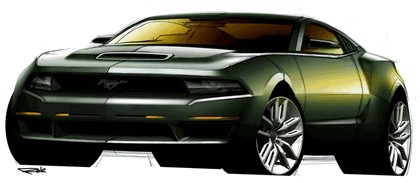 2010 Ford Mustang Shelby GT500 - sketches 3