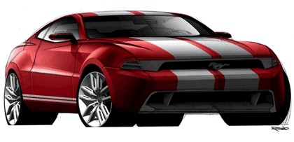 2010 Ford Mustang Shelby GT500 - sketches 5