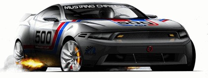 2010 Ford Mustang Shelby GT500 - sketches 7