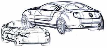 2010 Ford Mustang Shelby GT500 - sketches 15