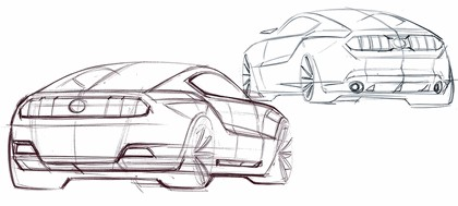 2010 Ford Mustang Shelby GT500 - sketches 17