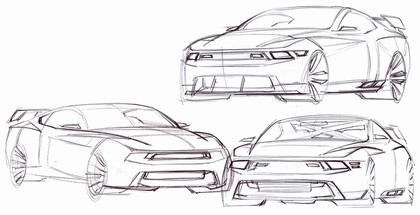 2010 Ford Mustang Shelby GT500 - sketches 18