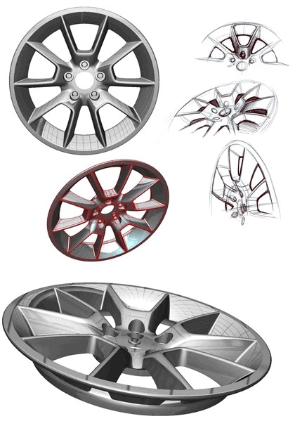 2010 Ford Mustang Shelby GT500 - sketches 21