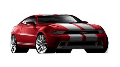 2010 Ford Mustang Shelby GT500 - sketches 9