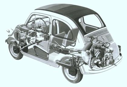 1957 Fiat 500 17