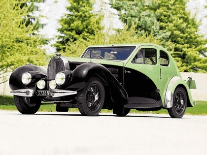 1936 Bugatti Type 57C Coupé Aerodynamique 1