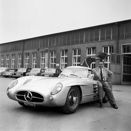 1955 Mercedes-Benz 300 SLR coupé racing prototype ( W196 ) 5