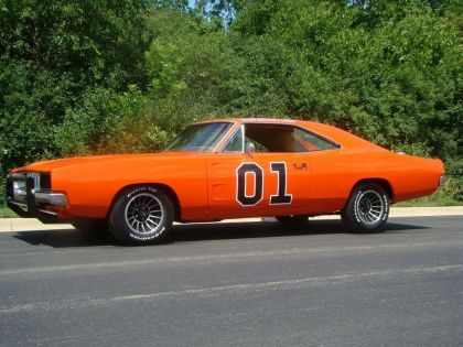 1969 Dodge Charger ( Dukes of Hazzard - General Lee ) 3