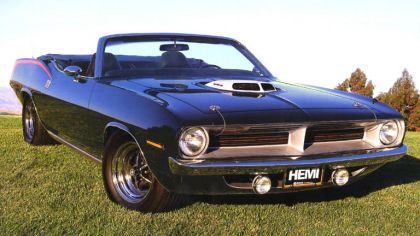 1970 Plymouth Cuda convertible 8