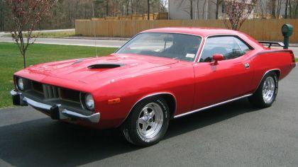 1973 Plymouth Cuda 9