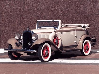 1932 Plymouth PB Phaeton 1