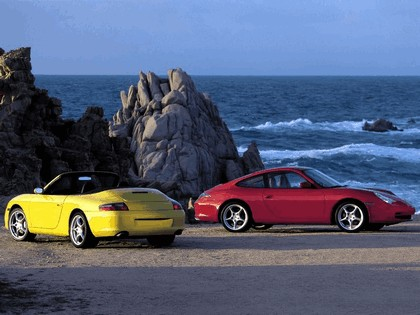 2002 Porsche 911 Carrera 4 cabriolet 4