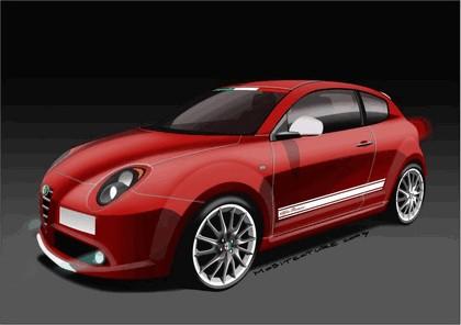 2009 Alfa Romeo MiTo Veloce - sketches 1