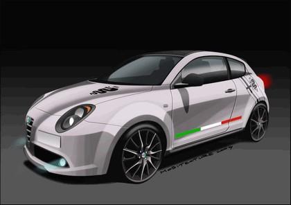 2009 Alfa Romeo MiTo Veloce - sketches 2