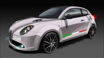 2009 Alfa Romeo MiTo Veloce - sketches 3