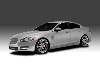 2009 Jaguar XF - new front end by Arden 1