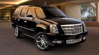 2009 Cadillac Escalade Platinum hybrid 4