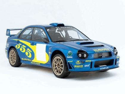 2002 Subaru Impreza WRC 1