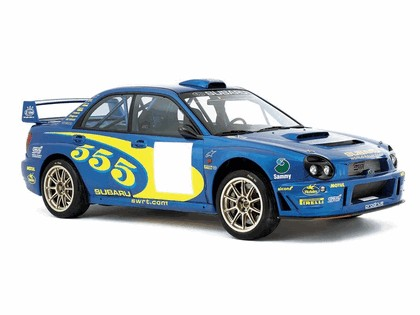 2002 Subaru Impreza WRC 4