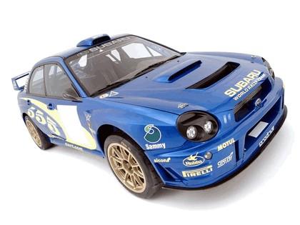 2002 Subaru Impreza WRC 5