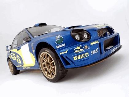 2002 Subaru Impreza WRC 6