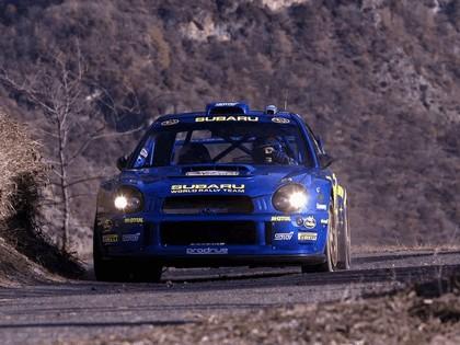 2002 Subaru Impreza WRC 11