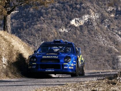 2002 Subaru Impreza WRC 12