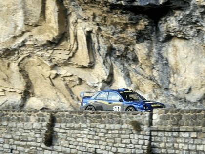 2002 Subaru Impreza WRC 15