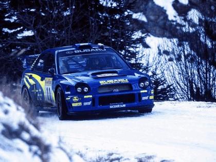 2002 Subaru Impreza WRC 16
