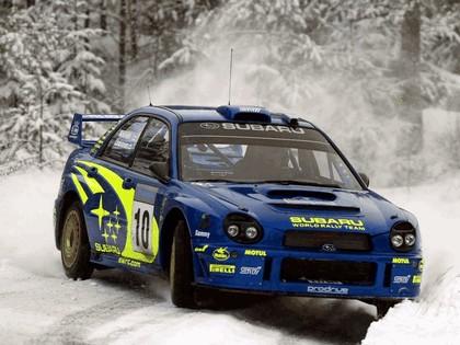 2002 Subaru Impreza WRC 28