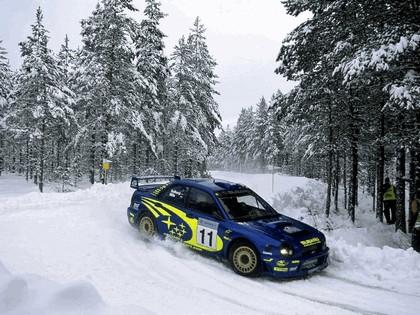 2002 Subaru Impreza WRC 35