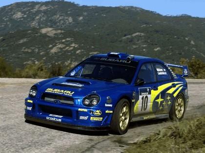 2002 Subaru Impreza WRC 40
