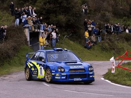 2002 Subaru Impreza WRC 42