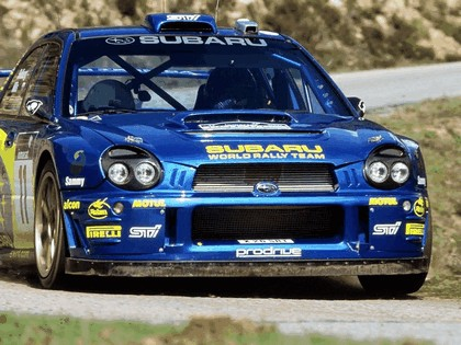 2002 Subaru Impreza WRC 53