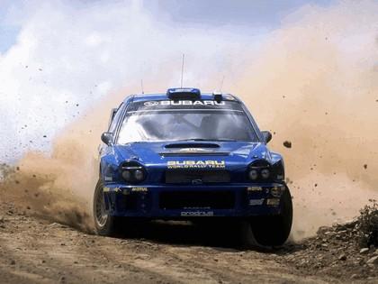 2002 Subaru Impreza WRC 73