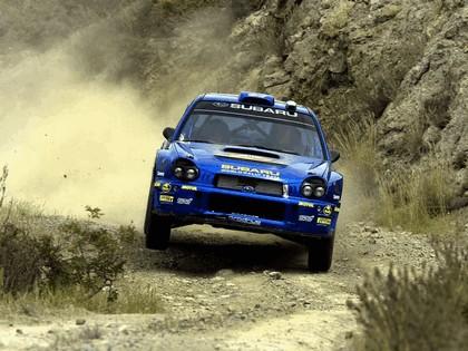 2002 Subaru Impreza WRC 74