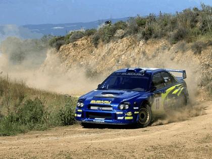 2002 Subaru Impreza WRC 75