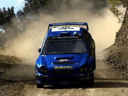 2002 Subaru Impreza WRC 78