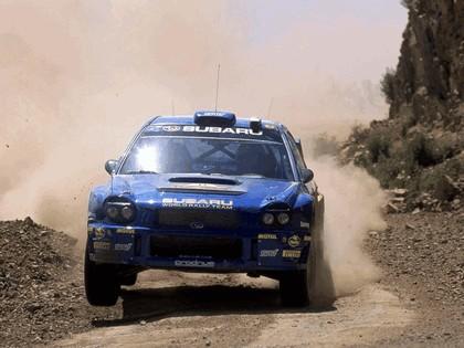 2002 Subaru Impreza WRC 86