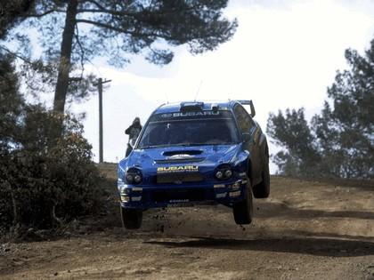 2002 Subaru Impreza WRC 87