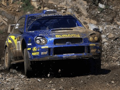 2002 Subaru Impreza WRC 88