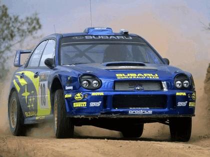 2002 Subaru Impreza WRC 89
