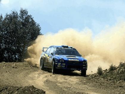 2002 Subaru Impreza WRC 93