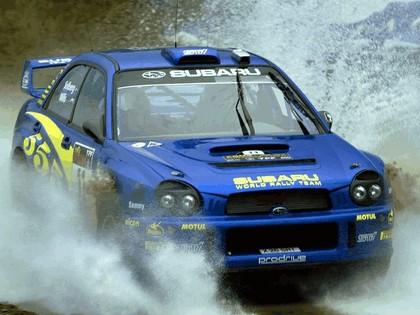 2002 Subaru Impreza WRC 95