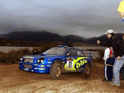 2002 Subaru Impreza WRC 99